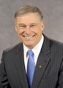 Jay Inslee of the U.S. (1951-)