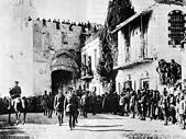 Dec. 11, 1917 Liberation of Jerusalem by Gen. Allenby