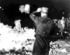 Nazis Burning Jewish Books, May 6, 1933