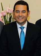 Jimmy Morales of Guatemala (1969-)