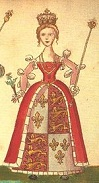 Queen Joan Beaufort of Scotland (1404-45)