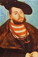 Elector John Frederick I the Magnanimous of Saxony (1503-54)