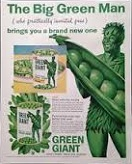 Jolly Green Giant, 1925
