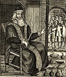 'The Examination and Trial of Father Christmas', by Josiah King, 1686