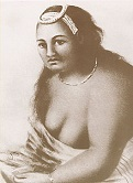 Queen Ka'ahumanu of Hawaii (1768-1832)