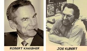 Robert Kanigher (19125-2002) and Joe Kubert (1926-2016)