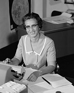 Katherine Johnson of the U.S. (1918-)