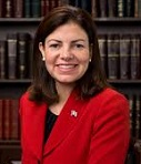 Kelly Ayotte of the U.S. (1968-)