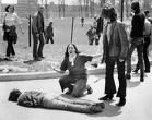 Mary Ann Vecchio (1956-) Kneeling over Jeff Miller (1950-70) at Kent State U., May 4, 1970