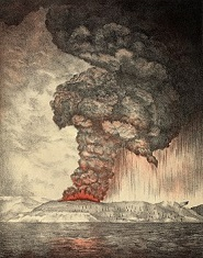 Eruption of Krakatoa, Aug. 26-27, 1883