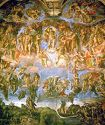 'The Last Judgment' by Michelangelo (1475-1564), 1541