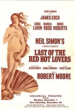 'Last of the Red Hot Lovers', 1969