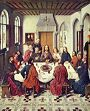 'The Last Supper' by Dirk Bouts (1410-75), 1464-7