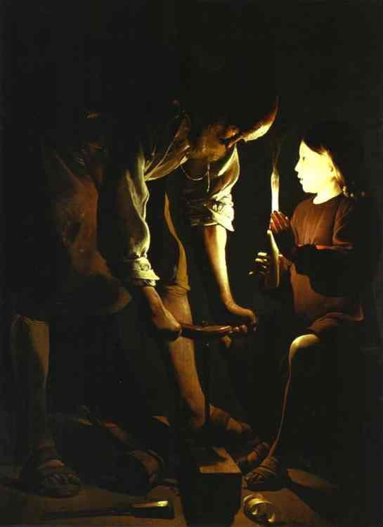 'St. Joseph' by Georges de La Tour (1593-1652), 1642