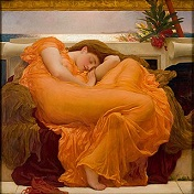 'Flaming June' by Frederic Leighton (1830-96), 1895