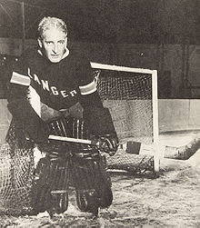 Lester Patrick (1883-1960) in 1928 Stanley Cup Finals, Apr. 8, 1928
