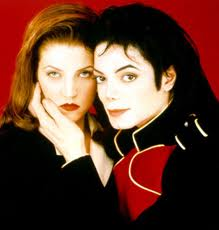 Lisa Marie Presley (1968-) and Michael Jackson (1958-2009)