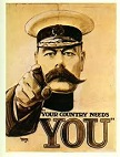 Lord Kitchener Recruiting Poster, Sept. 5, 1914