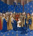 Coronation of Louis VIII of France and Blanche of Castile, Aug. 6, 1223