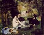 'Luncheon on the Grass' by Edouard Manet (1832-83), 1863