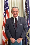 Lyndon Baines Johnson of the U.S. (1908-73)