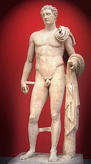 'Hermes of Atalante' by Lysippus