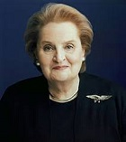 Madeleine Korbel Albright of the U.S. (1937-)