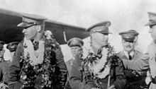 U.S. Lt. Lester James Maitland (1899-1990) and Lt. Alfred Francis Hegenberger (1895-1983)