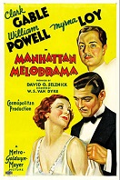 'Manhattan Melodrama', 1934