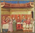 'The Marriage at Cana' by Giotto (1267-1337), 1305