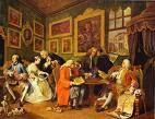 'The Marriage Contract' by William Hogarth (1697-1764), 1743