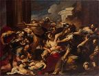 'The Massacre of the Innocents' by Valerio Castello, 1656-8