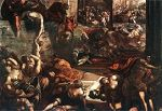 'The Massacre of the Innocents' by Tintoretto (1518-94), 1582-7