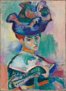 'Woman with a Hat' by Henri Matisse (1869-1954), 1905