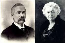 Melville Bissell (1843-89) and Anna Sutherland Bissell (1846-1934)