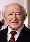 Michael Daniel Higgins of Irelnd (1941-)