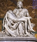 'Pietà' by Michelangelo (1475-1564), 1498