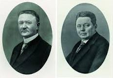 Carl Miele Sr. (1869-1938) and Reinhard Zinkann (1869-1939)