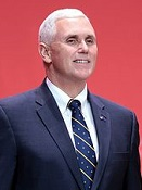 U.S. Vice-Pres. Mike Pence (1959-)