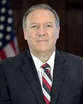 Mike Pompeo of the U.S. (1963-)
