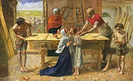 'Christ in the House of His Parents', by Sir John Everett Millais (1829-96), 1850