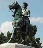 'Equestrian Statue of Lt. Gen. Washington', by Clark Mills (1810-83), 1860