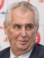 Milos Zeman of the Czech. Repub. (1944-)