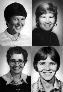 Four Catholic missionaries murdered in El Salvador on Dec. 2, 1980