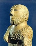 The Priest-King at Mohenjo-daro, -2500