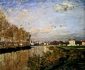 'The Seine at Argenteiul (Vanilla Sky)' by Claude Monet (1840-1926), 1873