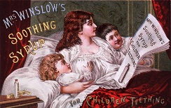 Mrs. Winslow's Soothing Syrup, 1849