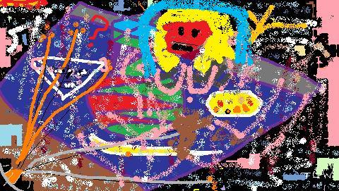 'My Pollock 4' by T.L. Winslow (TLW) (1953-), 2012