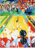 'Earl Anthony's Million Dollar Strike' by LeRoy Neiman (1921-2012), 1982