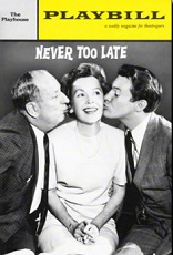 'Never Too Late', 1962